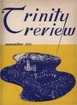 The Trinity Review, November 1951 by Trinity College