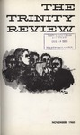 The Trinity Review, November 1960 by Trinity College