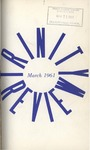 The Trinity Review, March 1961 by Trinity College