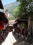 Alley of the Old Markets in the Center of the Town (Kruje, Albania) by Eniana Agolli