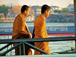 Thai Monk Boys (Bangkok, Thailand) by Abigail Kane
