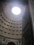 View Upon Entering the Pantheon (Rome, Italy)