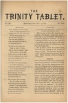 Trinity Tablet, July 1870