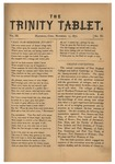 Trinity Tablet, November 1870 by Trinity College