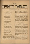 Trinity Tablet, February 1871 by Trinity College