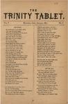 Trinity Tablet, January 1872