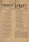 Trinity Tablet, May 1872
