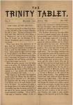Trinity Tablet, August 1872