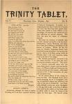 Trinity Tablet, October 1872