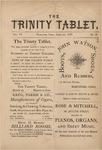 Trinity Tablet, February 1873