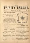 Trinity Tablet, April 1873