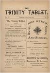 Trinity Tablet, June 1873