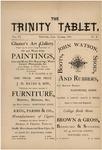 Trinity Tablet, October 1873