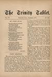 Trinity Tablet, December 1873