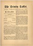 Trinity Tablet, March 28, 1885