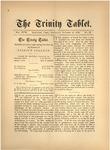 Trinity Tablet, October 17, 1885