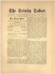 Trinity Tablet, October 31, 1885
