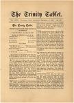 Trinity Tablet, December 12, 1885