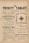 Trinity Tablet, March 1874