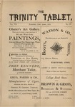 Trinity Tablet, April 1874