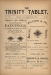 Trinity Tablet, October 1874