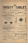 Trinity Tablet, December 1874