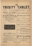 Trinity Tablet, February 1875