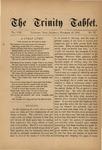 Trinity Tablet, November 1875