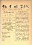 Trinity Tablet, June 10, 1876