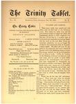 Trinity Tablet, October 28, 1876