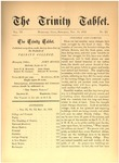 Trinity Tablet, November 18, 1876