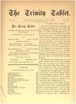 Trinity Tablet, December 9, 1876