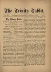 Trinity Tablet, February 1, 1879