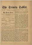 Trinity Tablet, February 22, 1879