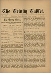 Trinity Tablet, April 5, 1879