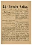 Trinity Tablet, April 25, 1879
