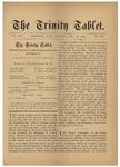 Trinity Tablet, December 13, 1879