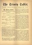 Trinity Tablet, November 27, 1880