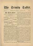 Trinity Tablet, October 27, 1877