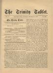 Trinity Tablet, December 8, 1877
