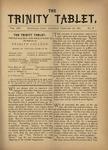 Trinity Tablet, February 26, 1881