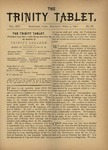 Trinity Tablet, April 9, 1881