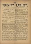Trinity Tablet, July 2, 1881