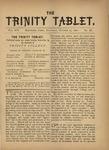 Trinity Tablet, October 15, 1881