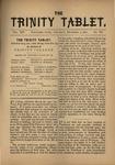 Trinity Tablet, December 3, 1881