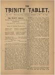 Trinity Tablet, December 17, 1881