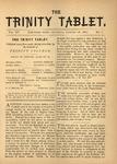 Trinity Tablet, January 28, 1882