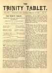 Trinity Tablet, Feburary 18, 1882