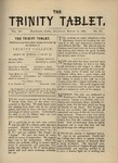 Trinity Tablet, March 11, 1882