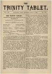 Trinity Tablet, June 10, 1882
